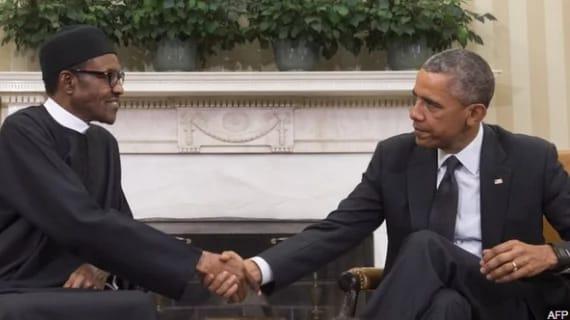 Buhari and Obama at Washington